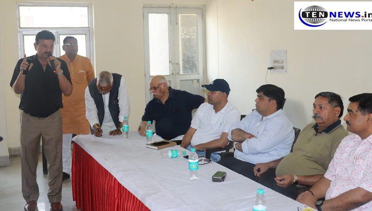 Noida Authority GM Rajeev Tyagi briefs about the meeting of Noida authority and RWA's of Noida