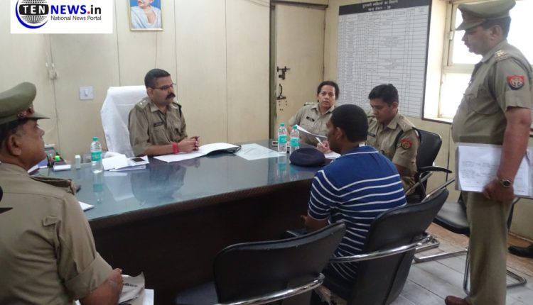 SSP Vaibhav Krishna briefs about 'Vadi Diwas' organized in Noida Sector 20 Police Station | Ten News