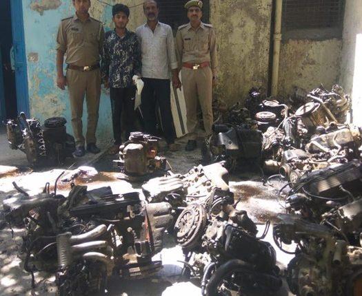 वाहन चोर गिरोह का भंडाफोड़, अब तक दिल्ली-एनसीआर में 200 से अधिक गाड़ियों पर कर चुके हैं हाथ साफ़