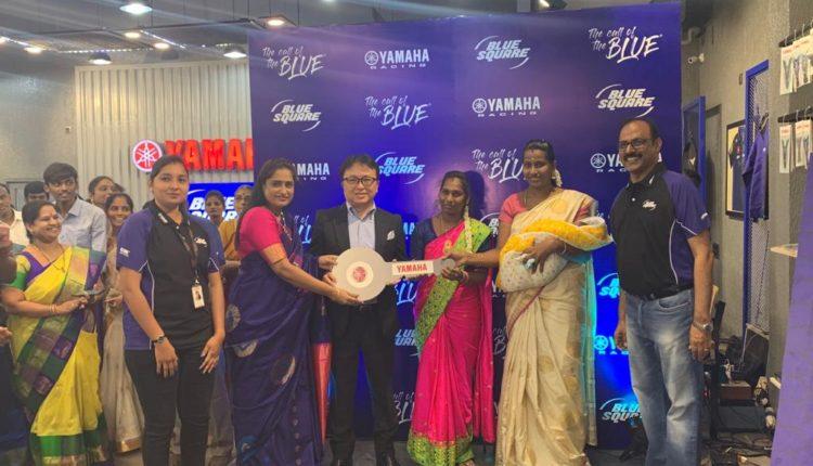 Mr. Motofumi Shitara, Chairman, Yamaha Motor India group of companies at the launch of 2nd Blue Square