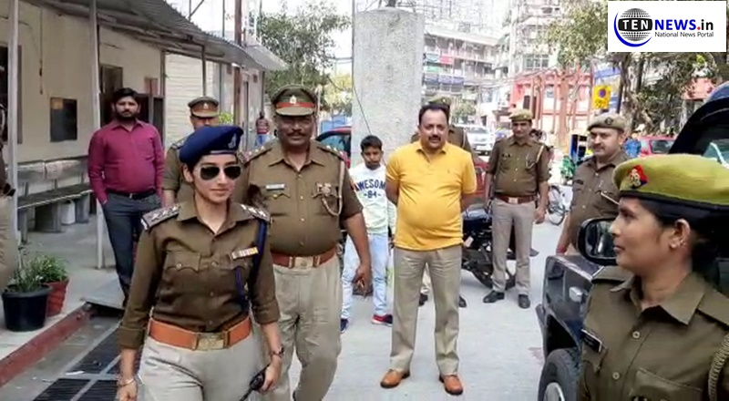 Noida's woman resident made ACP for a day on the occasion of International Women's Day