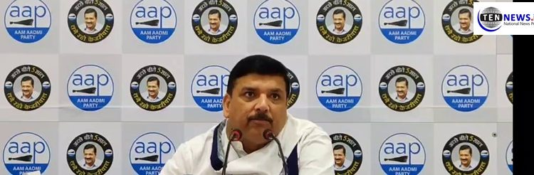 All defaulters of Yes Bank are friends of BJP, says AAP's Sanjay Singh