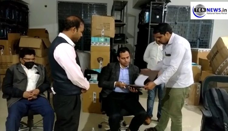 Factory manufacturing fake sanitisers raided in Noida Sector 63