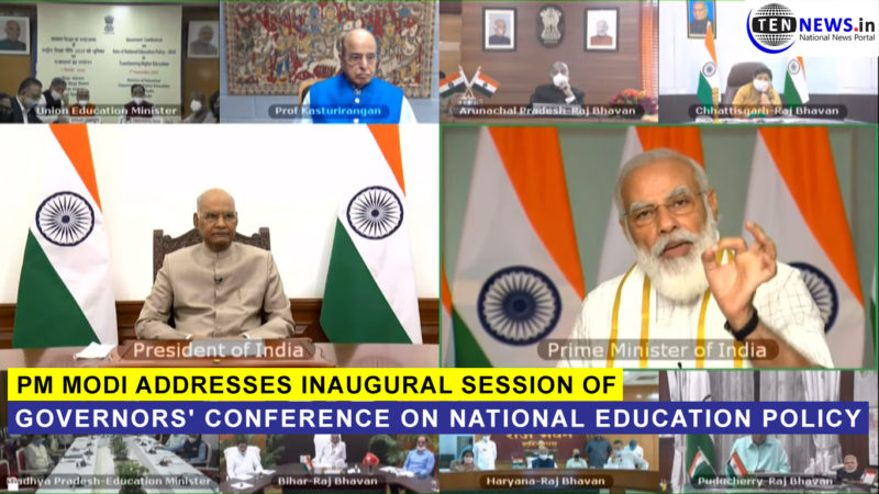 PM addresses inaugural session of Governors' Conference on National Education Policy