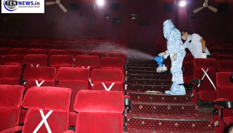 Cinema halls preparing to accommodate SOPs issued by govt ahead of reopening on 15th October