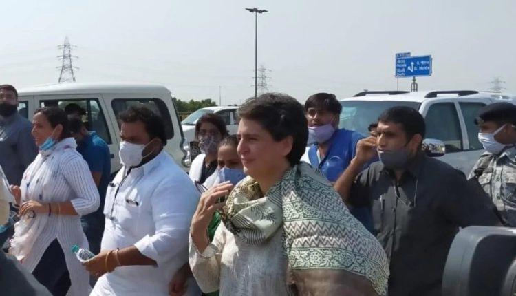 Priyanka-gandhi-says-we-wont-stop-while-on-her-way-to-hathras