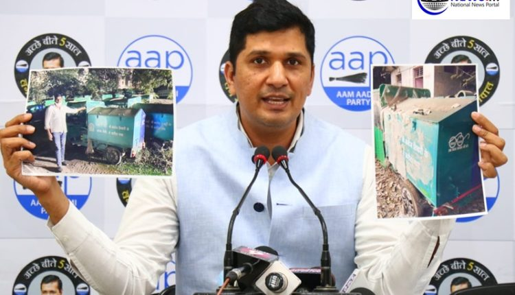 AAP alleges fraud by Manoj Tiwari in purchase of E-carts that were supposed to pick garbage