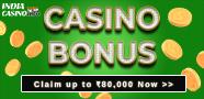 Indian casino top bonus